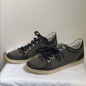 Frankie Morello Studded Sneakers